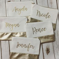 Check out these 17 bridesmaid gift ideas for inspiration on what to get your favorite ladies.