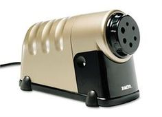 http://www.mypencil.com/CommercialElectricSharpeners.aspx Heavy duty electric pencil sharpener
