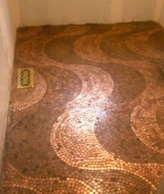Penny Floor Design : waves, stripes, flowers, squares & etc Bathroom Floor Tiles, Tile Floor, Wall Tile, Floor Art, Kitchen Tile, Penny Boden, Penny Decor, Penny Table, Arquitetura