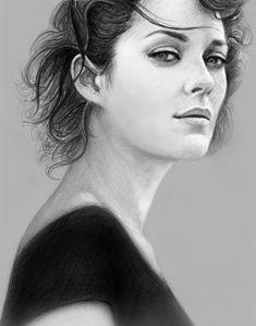 Marion Cotillard by maichan-art on DeviantArt