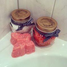zelf zeepjes en scrubzout maken