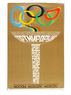 Moscow Summer Olympics 1980. The Games were hit by a boycott by the United States