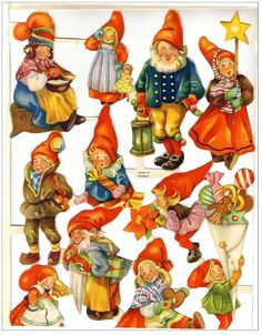 Christmas gnomes or elves