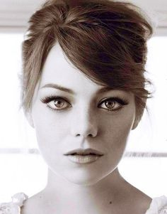 Emma Stone channeling Audrey