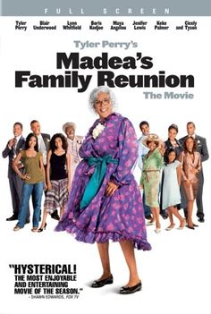 Lynn Whitfield, Lisa Arrindell, Tyler Perry, and Rochelle Aytes in Madea& Family Reunion Lynn Whitfield, Love Movie, Movie Tv, Movie List, Movies Showing, Movies And Tv Shows, Madea Movies, Funny Movies, Comedy Movies