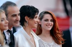 Pin for Later: May's Must-See Celebrity Moments!  Kristen Stewart let out a few big smiles when she walked the red carpet at the Cannes Film Festival.