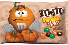 The Pumpkin Spice M&Ms are an Exciting Fall Treat #pumpkin trendhunter.com