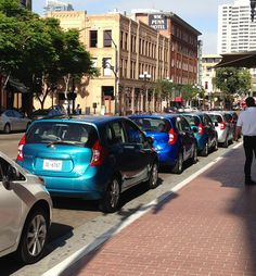 Nissan unveiled its new 2014 Versa Note in the Gaslamp! It's hitting all the right notes with San Diego car buyers!
