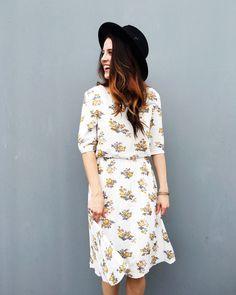 Noelle Floral Dress   ROOLEE