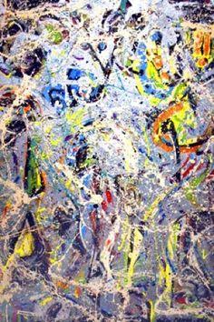 Jackson Pollock / Galaxy