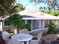 3 bed, 2 bath beacfront cottage on North Shore Oahu at Hale KoolauVacation Rental in Hauula from @homeaway! #vacation #rental #travel #homeaway