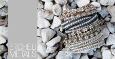 Shop our collection of Etched Metals fit for Spring http://www.chanluu.com/new-arrivals/etched-metals