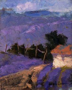 Brigitte Curt  - lavender