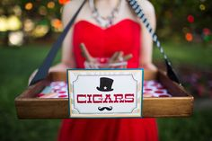 How cute would it be to hire someone as a cigar server?? Really cute is the…