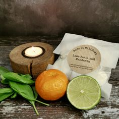 An enticing mouth-watering medley. Top notes of Sicilian lime, and zesty bergamot blend into a juicy heart of bursting with ripe mandarins, aquatic white florals, peppery basil and caraway seeds. Base notes include soft velvety patchouli and sharp green vetivert. This set of 6 tea lights are hand poured with an approximate burning time of 4 hours each using fragrance oil and soy wax. The tea light cups and packaging are fully recyclable Tea Light Candles, Tea Lights, Lime And Basil, Caraway Seeds, 4 Hours, Sicilian, Health And Wellbeing, Fragrance Oil, Home Crafts
