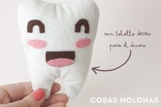 DIY Mini cojín de peluche para cuando se cae un diente