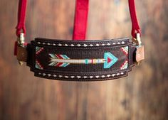 Busted K Beadwork- Beaded Belts, Tack and Jewelry Seed Bead Patterns, Beading Patterns, Beading Ideas, Horse Gear, Horse Tack, Beaded Hat Bands, Seed Bead Crafts, Loom Beading, Pet Accessories