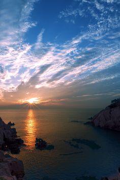Kostenloses Stock Foto zu meer, natur, himmel, sonnenuntergang