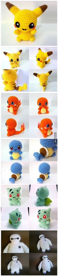I want all of them! Well, except for pikachu, somehow it freaks me out a little xD