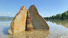 Land art-Stones in Hungary by tamas Kanya by tom-tom1969.deviantart.com on @deviantART