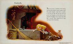 Deluxe Living Story Book Cinderella 1967 pg 1 | Flickr – Compartilhamento de fotos!