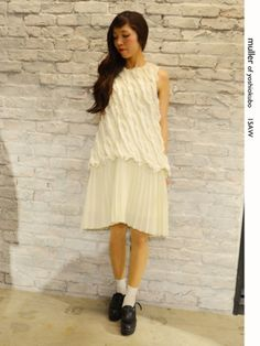 8f9677982fff muller Feather two-layer dress