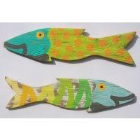Chubby Michael Fence Fish S/2