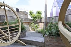 Dakterras met loungehoek Garden Bridge, Outdoor Structures