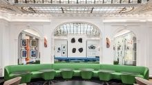 At the refurbished Hôtel Vernet in Paris, François Champsaur makes a memorable green splash.