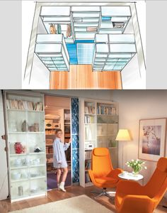 Begehbarer Kleiderschrank: So baust du ihn selber! Create a walkin closet thanks to IKEA similar great projects and ideas as … Diy Para A Casa, Diy Casa, Kallax Regal, Pinterest Home, Pinterest Crafts, Diy Home Crafts, New Room, Home Bedroom, Bedroom Wardrobe