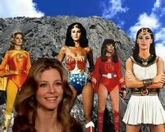 Electro Woman,Bionic Woman, Wonder Woman, Dyna-Girl and ISIS!!