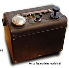 "Rosco fog machine model ""8211"" (1979)"