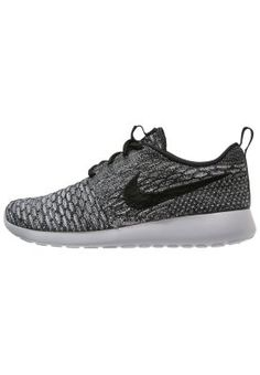 Nike Sportswear ROSHE ONE FLYKNIT - Sneaker - cool grey/black/wolf grey/white - Zalando.de