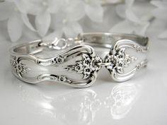 Spoon Bracelet Spoon Jewelry Silverware by SilverSpoonCreations, $26.50