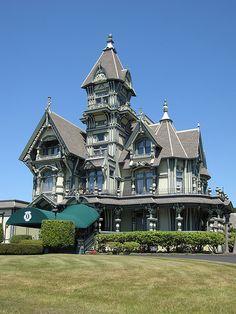 Carson mansion -  Eureka, CA.