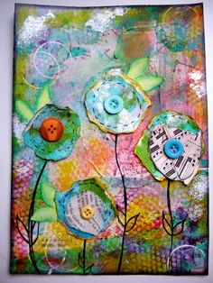 Art journal inspiration Christy Tomlinson