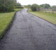 how to fix bitumen driveways