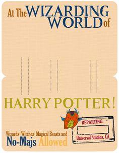 Harry Potter Printables, Universal Studios, World, Blog, Blogging, The World