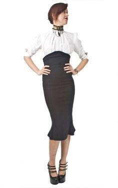 Necessary Evil Lyssa High Waisted Skirt - Large Necessary Evil,http://www.amazon.com/dp/B009ERG39W/ref=cm_sw_r_pi_dp_IyEzsb01BFYTPWNW