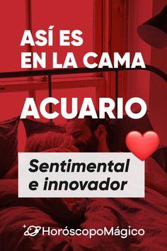 ♥ ACUARIO, haz clic en la imagen para saber tu compatibilidad en la CAMA con otros signos #signoszodiaco #cama #horoscopomagico #horoscopo #compatibilidadaenlacama #acuario