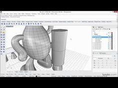 Rhino 5 tutorial: Making solids with primitives   lynda.com - YouTube