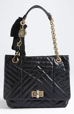 Lanvin 'Happy' Quilted Leather Shoulder Bag available at Nordstrom