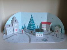 Morning:) Build a town advent calendar - day 10