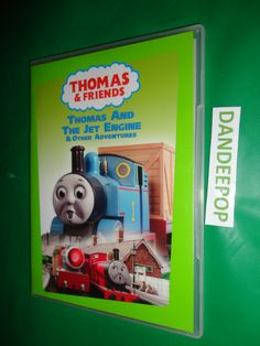 Thomas The Tank Engine Thomas & Friends Thomas and The Jet Engine & Other Adventures DVD 2004 find me at www.dandeepop.com