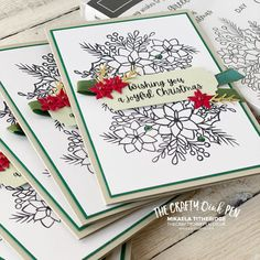 AWOW Around the World on Wednesday with a 10 in 30 Challenge. I use the Stamparatus and our Words of Cheer Bundle to create some beautiful Christmas Cards By Mikaela Titheridge, The Crafty oINK Pen. UK Independent Stampin' Up! Demonstrator. Buy your Stampin' Up! Products through my online store and use my Shopping Code at checkout for a Free Gift from me and a FREE Download of the All Star Tutorial Bundle. More info on my blog. Beautiful Christmas Cards, Stampin Up Christmas, Making 10, Glue Dots, Day Wishes, Little Flowers, Cards For Friends, I Card, Free Gifts