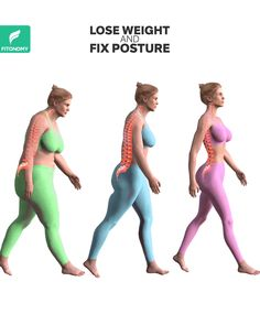 LOSE WEIGHT & FIX POSTURE When we have extra weight in our body we start having a bad posture walk and feel more tired. This weight loss workout routine will not only help you to get rid of fat but… Continue Reading → Gym Workout Videos, Gym Workout For Beginners, At Home Workouts, Belly Fat Workout, Butt Workout, Best Leg Workout, Chest Workout Women, Posture Exercises, Exercises To Tone Legs