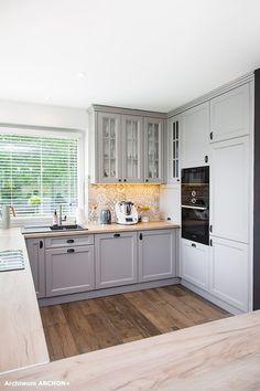 Dom w sansewieriach Kitchen Cabinets, Home Decor, Cooking, Fotografia, Decoration Home, Room Decor, Cabinets, Home Interior Design, Dressers
