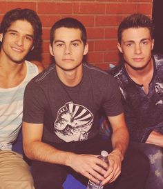 Tyler Posey, Dylan O'Brian, & Colton Haynes The Vampire Diaries can suck it. Hottest male cast DEFINITELY Teen Wolf.