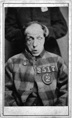 16 Creepy Mugshots of 1800's Insane Asylum Patients