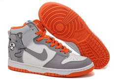 pretty nice afb17 2595b Man Nike Dunk SB High Grey-Yellow 313171 601 Nike Hi Tops, High Shoes